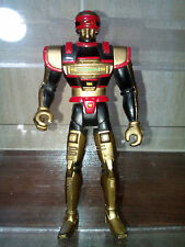 VINTAGE SABAN VR TROOPER ACTION FIGURE KENNER TURBO J B REESE BLACK & GOLD 1995