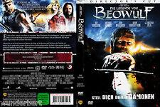*- DVD - Die LEGENDE von  BEOWULF - Ray WINSTONE/Anthony HOPKINS 110 min (2007)