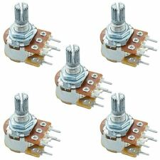 5 x 10K Linear 16mm Potentiometer Pot W/Switch