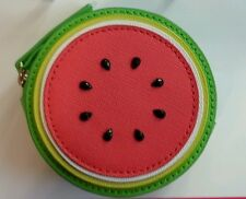 KATE SPADE WATERMELON WITH SEEDS MAKE A SPLASH COIN PURSE