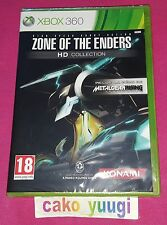 ZONE OF THE ENDERS HD COLLECTION XBOX 360 NEUF VERSION 100% FRANCAIS
