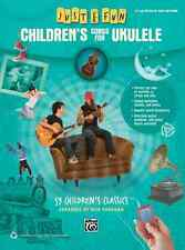 "JUST FOR FUN ""CHILDREN'S SONGS FOR UKULELE""-EASY UKE-TAB BRAND NEW MUSIC BOOK!!"