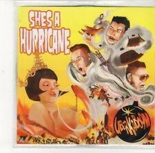 (DK570) Uberkaboom, She's A Hurricane - 2012 DJ CD