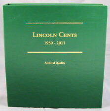 Coin Album by Littleton Lincoln Cents 1959 - 2011, Volume 2, #LCA19