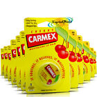 12x Carmex Moisturising Cherry Lip Balm Pot SPF15 Dry Chapped Cracked Lips 7.5g