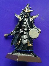 1x Black guard of naggaroth Dark elf metal elven citadel GW musician command #B