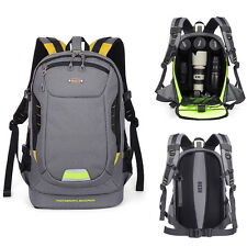 SLR DSLR Camera Backpack Travel Photo Bag Insert Case Canon Nikon Sony Pentax