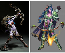 WOW WORLD of WARCRAFT SERIES 5 NIGHT ELF HUNTER ALATHENA ACTION FIGURE TOY GIFT