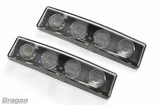 White Scania 4 / R Series Visor LED Light x2 Volvo DAF Man Truck Accessories x2