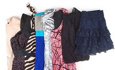 Bebe Lot of 8 Women's Club/Dressy Tops, Skirt, Dresses, Jacket Large L [BK9957]