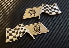 NEW JAGUAR WING BADGES X TYPE XXR XJR XFR S TYPE