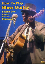 How To Play Blues Guitar Lesson 1 Learn Beginner Fingerstyle Tutor Music DVD