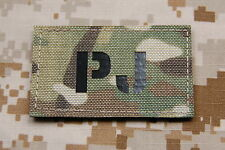 PJ Infra Red Call Sign Patch Multicam Para Rescue Pedros USAF IR