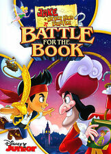 Jake and the Never Land Pirates: Battle for the Book! (DVD, 2015)