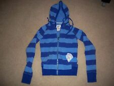 FOX RIDERS CO-Fox Girls Blue Zip-up Hoodie Sweat Shirt-Junior's Size: Large