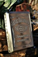 Jack Daniels Credit Debit Business Card or Cigarette Case - Embossed - Old No. 7