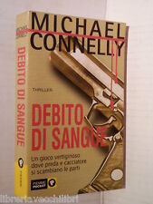 DEBITO DI SANGUE Michael Connelly Piemme 2001 Libro romanzo thriller narrativa