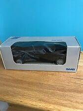 Saab Black Toy Car Dealer Promo Dealership Model