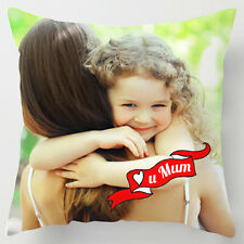 Personalised Photo Mothers day Mum quirky decor cushion / pillow