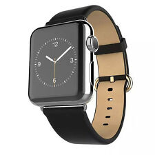 Genuine Leather Buckle Wrist Watch Strap Band Belt for Apple Watch2 iWatch 42mm