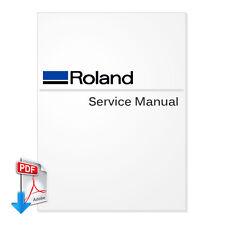 ROLAND VersaStudio BN-20 Service Manual- PDF(Send by Email)