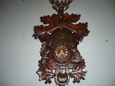 ~~Vintage Schneider & Sons Germany Black Forest Cuckoo Clock Hunting - L@@K~~