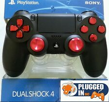 SONY PS4 MODDED RAPID FIRE CONTROLLER, RED CHROME, AW, BF1, DESTINY, BLACK OPS 3