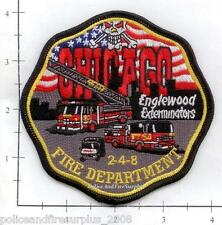 Illinois - Chicago Engine 54 Ladder 20 IL Fire Dept Patch 2-4-8