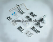 "ALL BRANDS LOW SHANK SEWING MACHINE PRESSER FEET :Roller Hemmer Zipper 1/4"".."