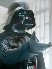 DAVE PROWSE Signed 16x12 Photo STAR WARS DARTH VADER COA