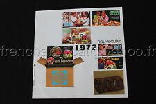 P445 Dépliant publicitaire nouveautés 1972 jeux scientifiques jouet Educatif JEU