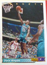 CARTE  NBA BASKET BALL 1993  PLAYER CARDS DAVID WINGATE (114)
