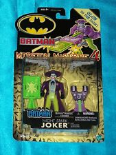 "JOKER Night Spark: 4.5"" Action Figure w/Wildcard Launcher*BATMAN-Glow-n-the-DARK"