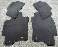 Jaguar 2004-2008 X-Type Carpet Floor Mat Set Flint Grey Black LFN C2S39481LFN