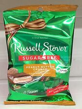 Russell Stover Sugar Free Dark Chocolate Pecan Delight Candy 3 oz