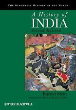 Blackwell History of the World: History of India 9 by Burton Stein (2010, Paperb