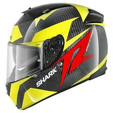 CASCO HELMET MOTO INTEGRALE SHARK SPEED R SERIES2 CARBON RUN CARBONIO TG S