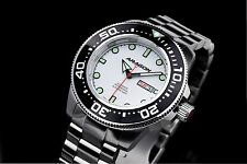 Aragon A064WHT Divemaster Automatic 45mm Watch
