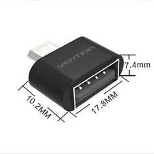 REMAX Micro USB To USB 2.0 Adapter mini OTG 5 pin Converter For Android Black