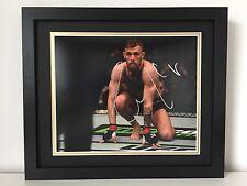 RARE Conor McGregor Signed Photo Display UFC + COA + FRAMED + PROOF MMA