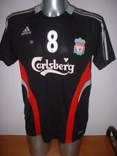 Liverpool Adidas Training Adult Small 8 Gerrard Football Soccer Shirt Jersey X