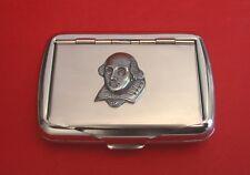 Shakespeare Tobacco Tin Box Literacy Gift English Teacher Gift Smoking accessory