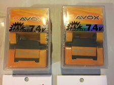 SAVOX (LOT of 2) 1270TG .11sec 487oz @7.4HV Servos savsv1270tg.