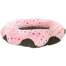 Charles Bentley Soft Washable Oval Pet Bed For Cats Kittens & Small Dogs