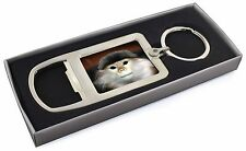Cheeky Monkey Chrome Metal Bottle Opener Keyring in Box Gift Idea, AM-8MBO