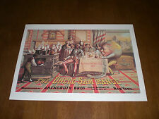 THE UNCLE SAM RANGE - ABENDROTH BROTHERS - NEW YORK 11x14 PRINT