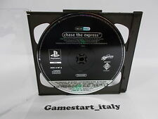 CHASE THE EXPRESS SCES-12815 (SONY PS1) PROMO VERSION - PAL VERSION