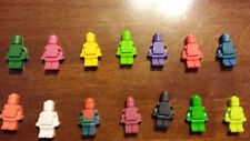 100 lego crayons, Robot minifig party favors kids gift bag