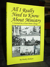 All I Really Need to Know About Ministry I Learned on a Four-Point Charge