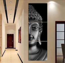 Modern Abstract Oil Painting Wall Decor Art Huge - Sakyamuni Buddha 3p